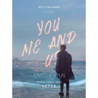 JUNG DAE HYUN 20191st solo concert 'You Me and Us'