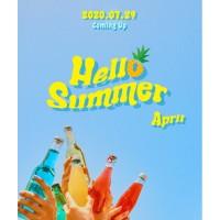 【MAKESTAR】APRIL「Hello Summer」販売記念 映像通話サイン会応募代行【8/2】