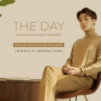 KIM SUNG KYU ONTACT CONCERT [THE DAY] 公式MDオンライン購入代行